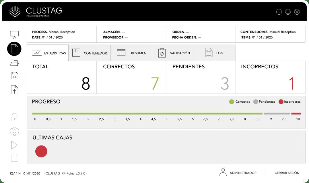 Captura de pantalla de software - Modo día 2